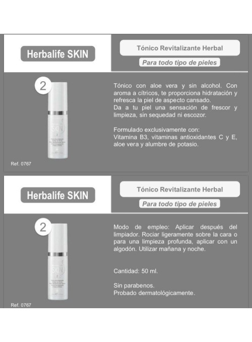 Tónico Revitalizante Herbal...